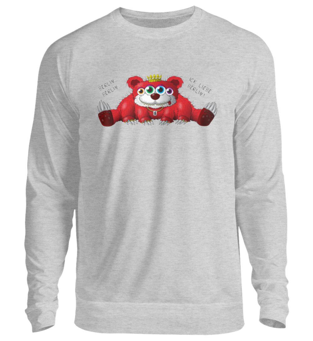 unisex-sweatshirt-longsleeve-berlin - Unisex Pullover-17