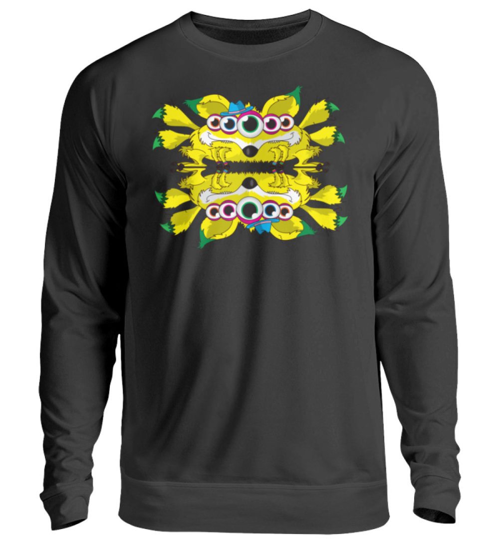 unisex-sweatshirt-longsleeve-fox - Unisex Pullover-1624