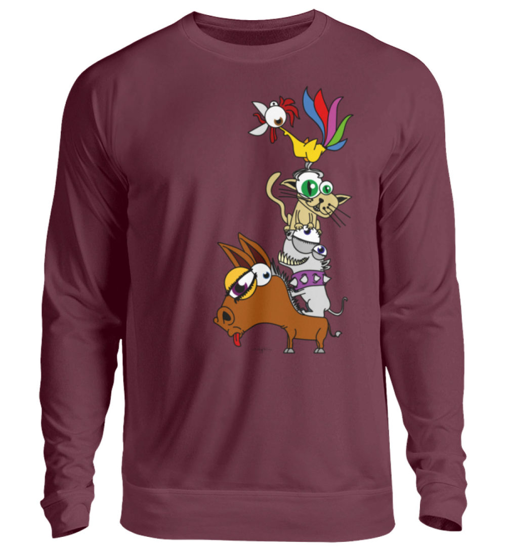 unisex-sweatshirt-longsleeve-bremen - Unisex Pullover-839