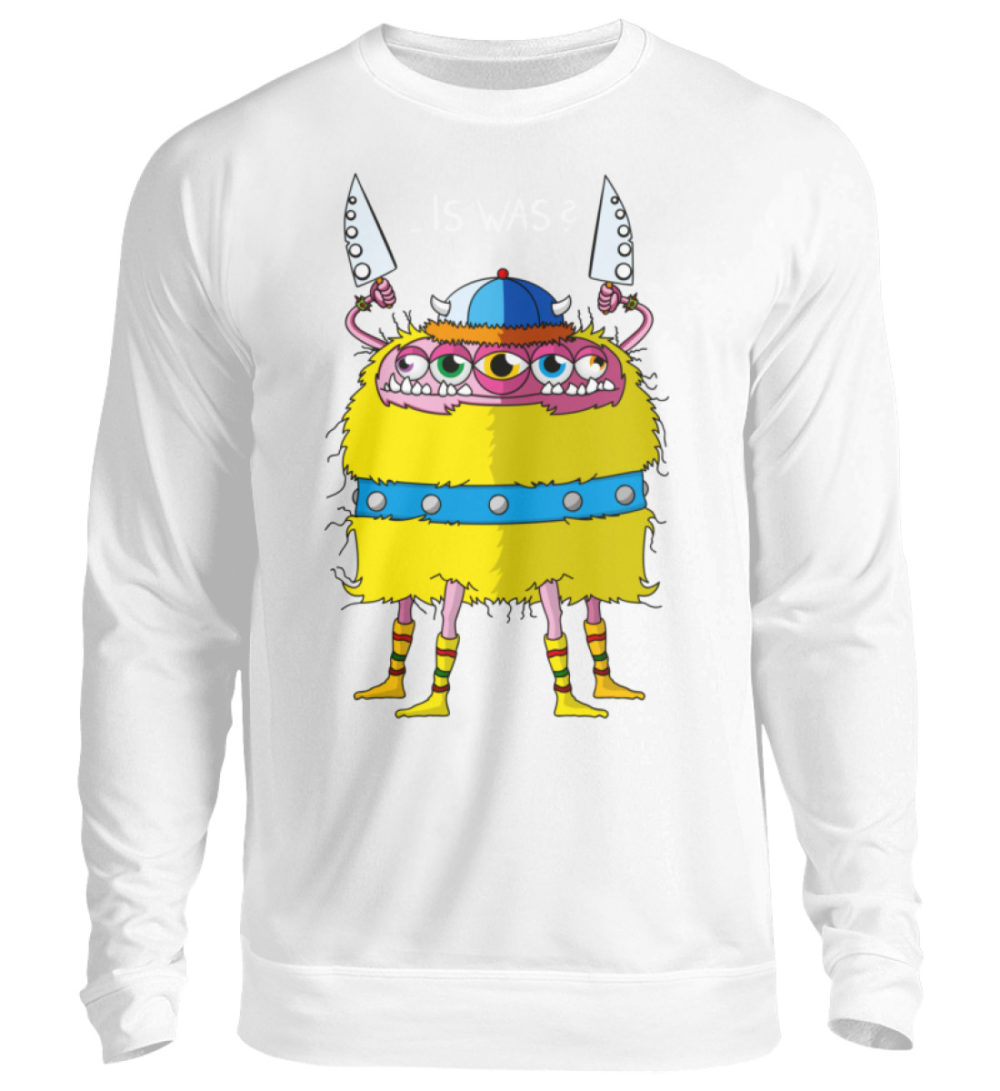 unisex-sweatshirt-longsleeve-wikinger-bg - Unisex Pullover-1478