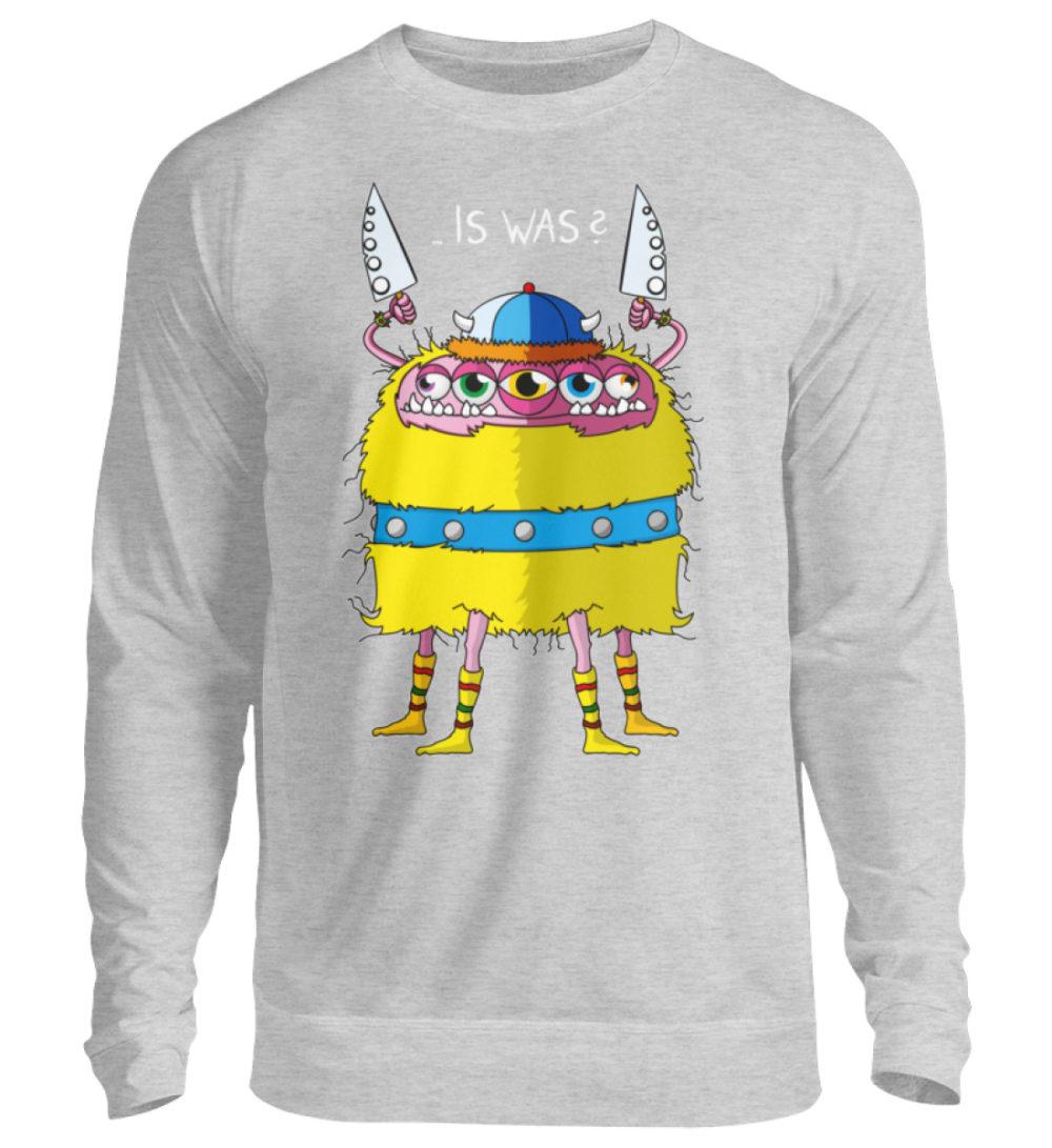 unisex-sweatshirt-longsleeve-wikinger-bg - Unisex Pullover-17