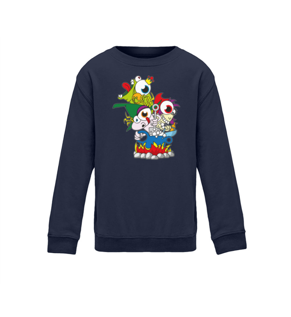 kids-sweatshirt-longsleeve-hex-hex - Kinder Sweatshirt-1698