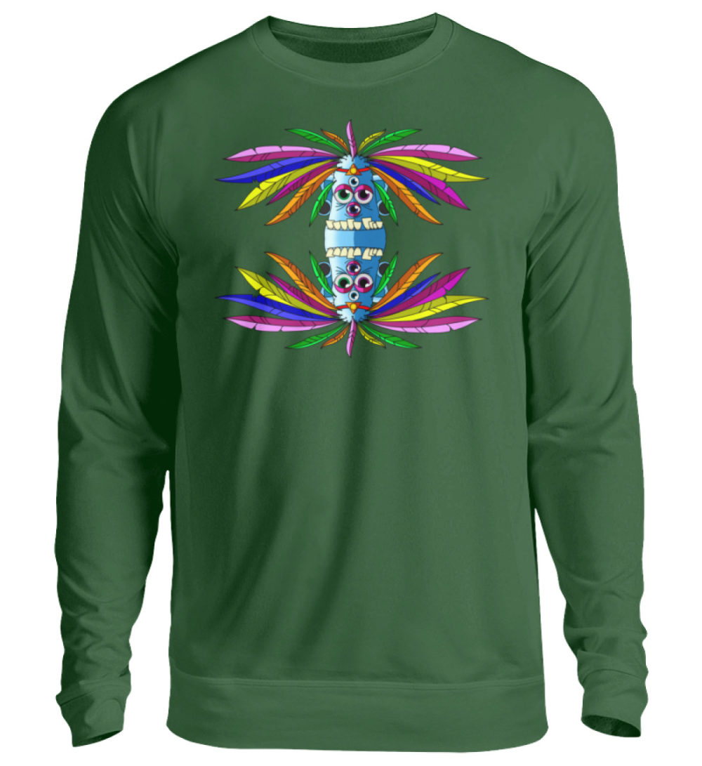 unisex-sweatshirt-longsleeve-manolo - Unisex Pullover-833