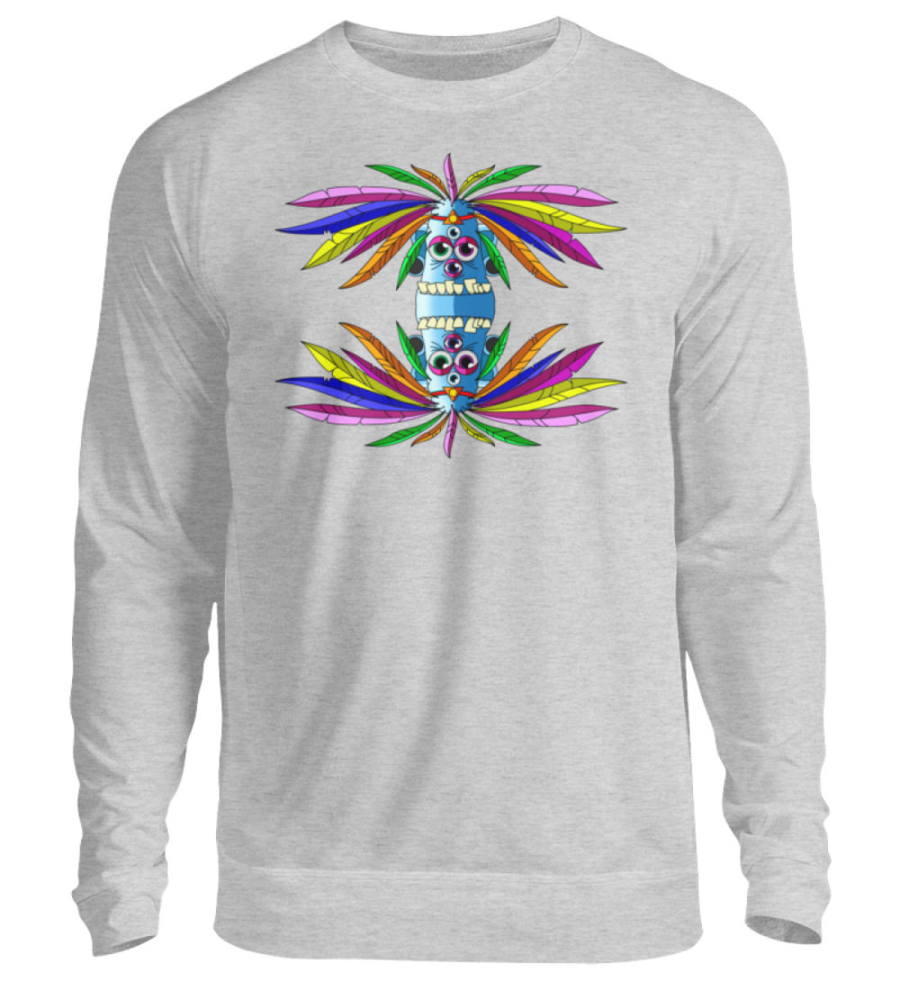 unisex-sweatshirt-longsleeve-manolo - Unisex Pullover-17