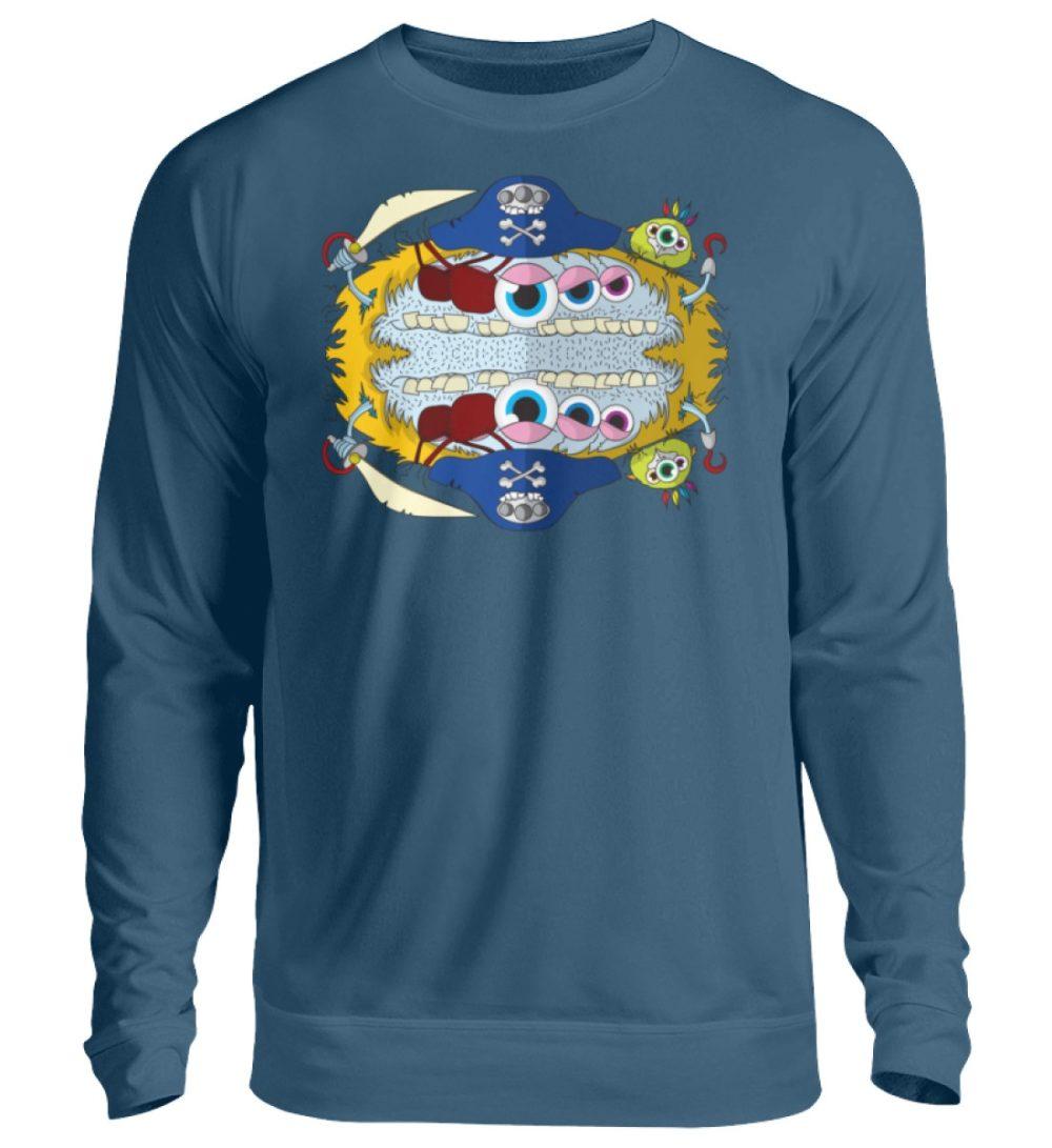 unisex-sweatshirt-longsleeve-pirato - Unisex Pullover-1461