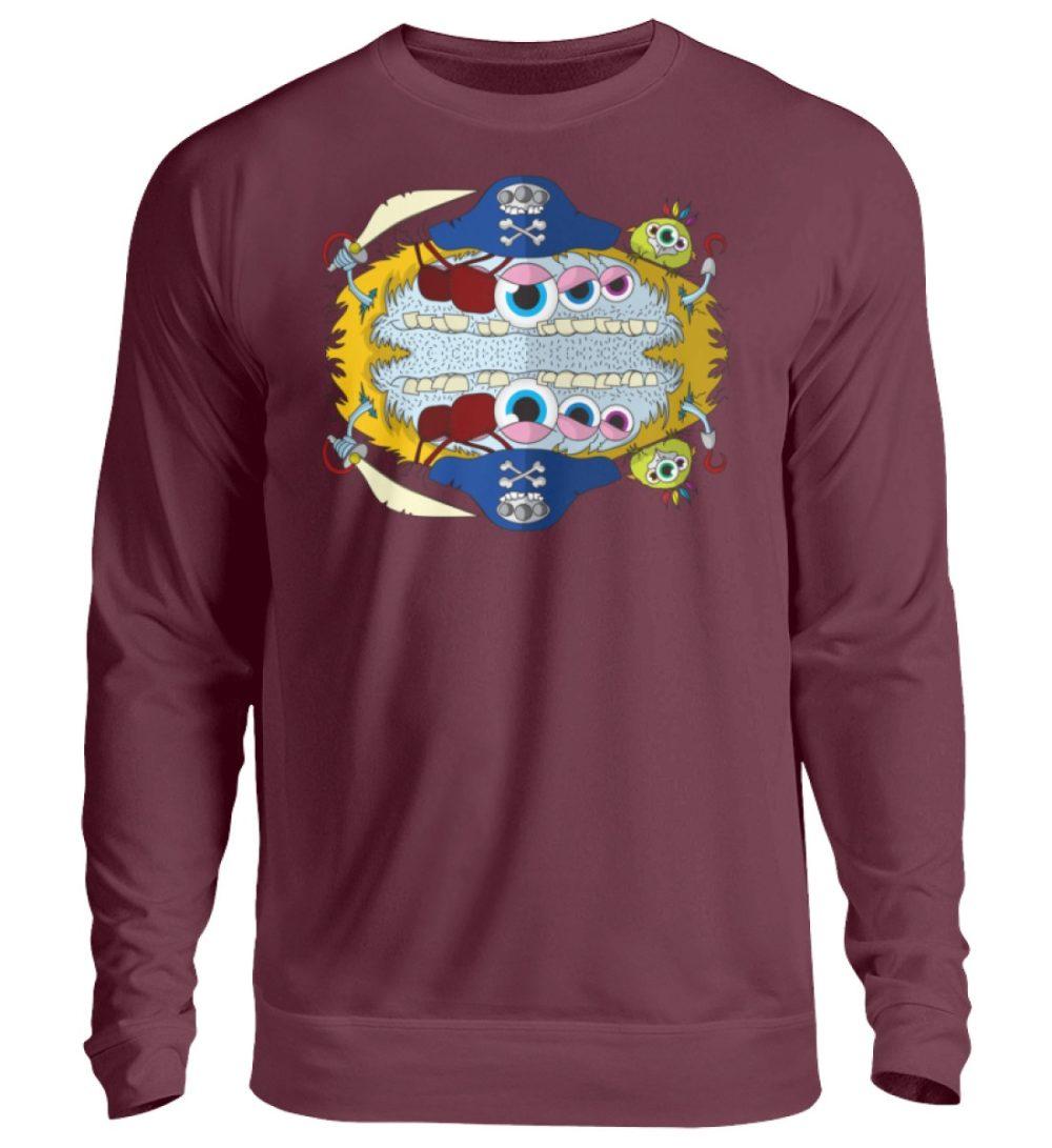 unisex-sweatshirt-longsleeve-pirato - Unisex Pullover-839