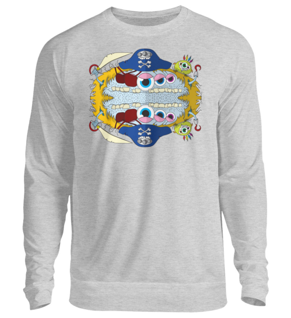 unisex-sweatshirt-longsleeve-pirato - Unisex Pullover-17
