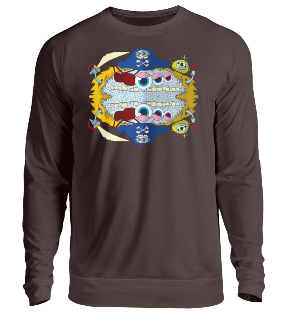 unisex-sweatshirt-longsleeve-pirato - Unisex Pullover-1604