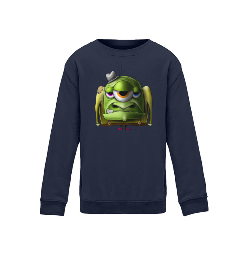 kids-sweatshirt-longsleeve-old-man - Kinder Sweatshirt-1698