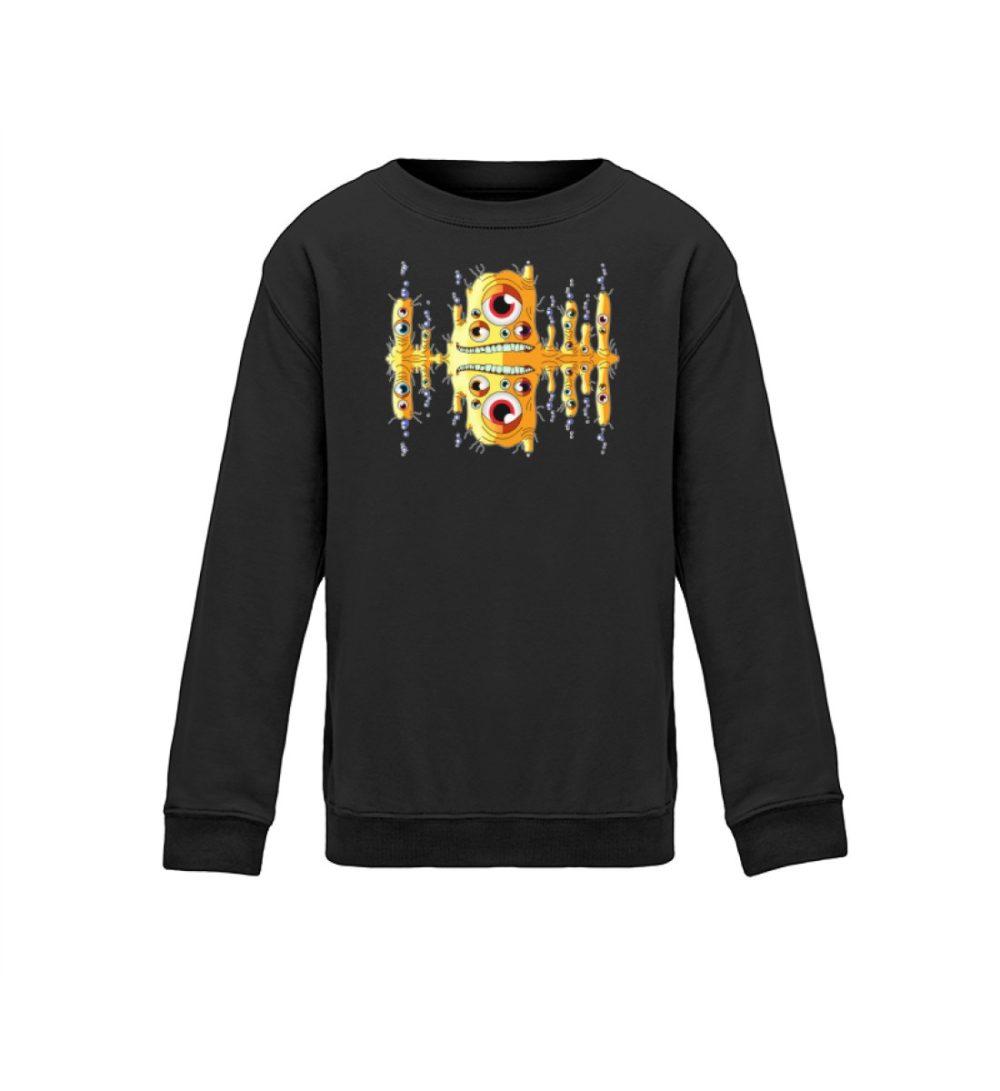 kids-sweatshirt-longsleeve-blubbah - Kinder Sweatshirt Blubbah berlin-monster-art.com berlin monster art street style witzes motiv dark black schwarz